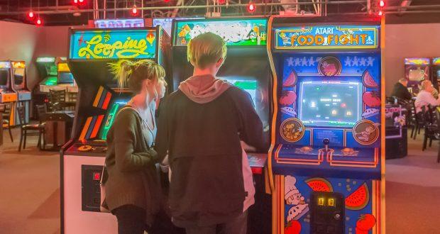 Grinkers Vintage Arcade: Insert Coin – Eagle Magazine